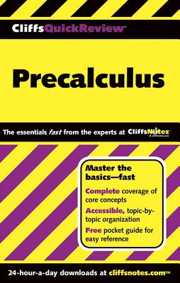 Cliffsquickreview Precalculus By Kelley, W. Michael